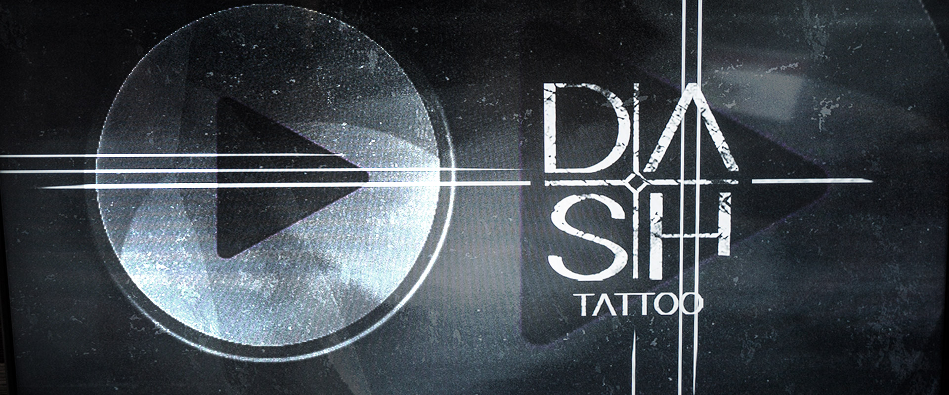 Press PLay DASH Videoscreen Tattoo Timelapse