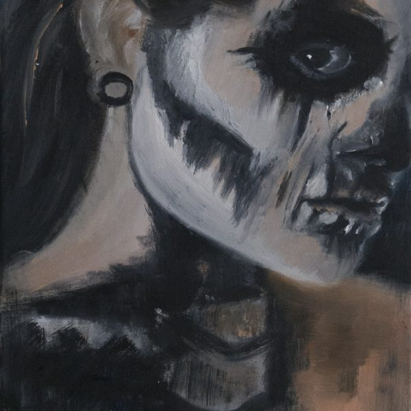 Realistic Painting La Catrina Halloween Wien Art Oil Painting Dash Tattoo Danny ShoeStar Dash Tattoo