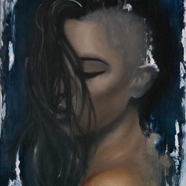 Sonja Ploechl Realistic Painting Portrait Danny ShoeStar Art Gallery Dash Tattoo Wien Vienna